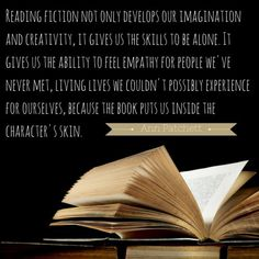 Reading fiction does more than activate your imagination! We rounded up 9 big brain benefits to getting lost in a book. :) https://open.buffer.com/reading-fiction/?utm_content=buffera0db6&utm_medium=social&utm_source=pinterest.com&utm_campaign=buffer