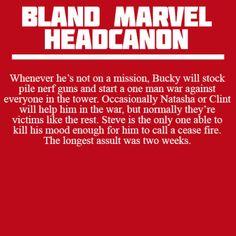 Bucky's Nerf wars