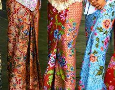 Batik Fashion picture - part of our huge selection of professional quality pictures at very affordable prices - Batik Kebaya, Kebaya Dress, Batik Dress, Collection Eid, Indonesian Kebaya, Indonesian Wedding, Style Ethnique, Batik Fashion, Sarongs