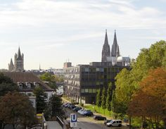 Blick auf dem Kölner Dom vom Hotel Ilbertz *** Köln