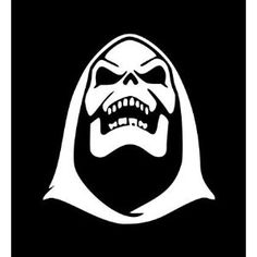 Skeletor He-Man Masters of the Universe Sticker Decal 5.50 White