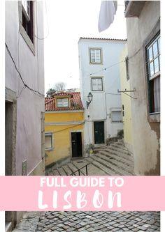 Waar eten, waar slapen en wat te doen in Lissabon - Map of Joy