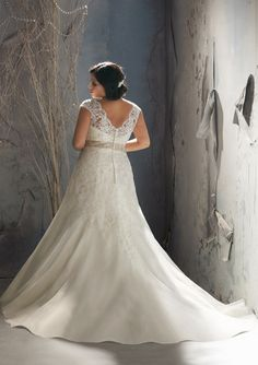julietta wedding dresses | Plus Size Wedding Dress of the Week} Style 3144 by Julietta {Mori Lee ...