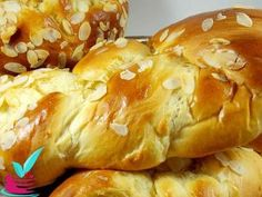 Sweets Recipes, Easter Recipes, Cooking Recipes, Greek Desserts, Greek Recipes, Greek Cooking, Almond Cookies, Holiday Baking, Breakfast Recipes