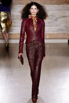 Spectacular L'Wren Scott Fall / Winter 2013 Collection [PHOTOS] - L'Wren Scott - Fall / Winter 2013 - Collection - Designer - Women's Wear - Fashion Show