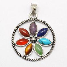 25% off on $1.54/pc Vintage Chakra Jewelry Zinc Alloy Bezel Gemstone Pendants @PandaHall http://www.shareasale.com/u.cfm?d=262423&m=52149&u=380926