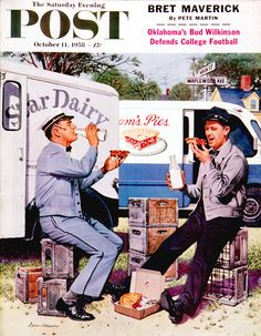 Milkman Meets Pieman.  Saturday Evening Post, Oct. 11, 1958