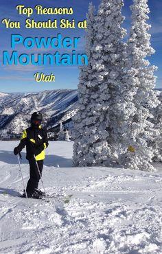 Top reasons why you should be skiing at Powder Mountain, Utah.