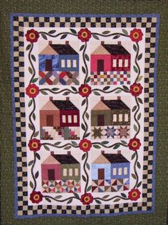 Patchwork Cottage by Linda Ramrath — Design by The Rabbit Factory