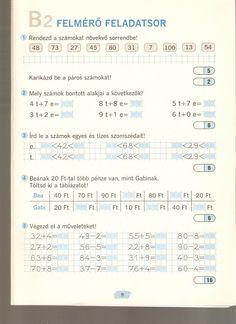 Albumarchívum - Sokszínű matematika felmérő 2. osztály