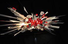 big bang lamp, Ingo Maurer