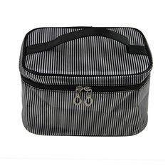 Fakeface Large Capacity Stripes Carrying on Handle Zipper Laundry Clothes Underwear Socks Bra Organizer Toiletry Washing Bags Makeup Cosmetic Storage Bag Travel Luggage Essential Case Holder >>> Learn more by visiting the image link.