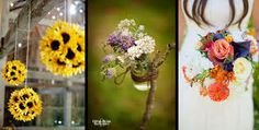 wedding bouquets country style - Google Search