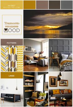 TRAMONTO SCOZZESE è un MOOD!  Per un ambiente rilassante e avvolgente House Color Palettes, Zen Room, Design Apartment, Coastal Living Rooms, Living Room Color Schemes, Bedroom Colors, House Rooms, Interior Design Inspiration, Colorful Interiors