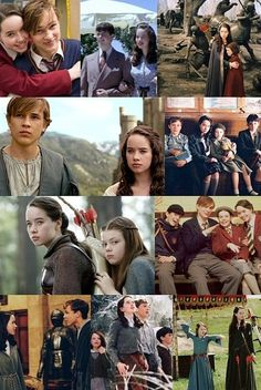 The Pevensie Family from Chronicles of Narnia. Oh, how I love them!