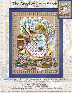 The Angel of Cross Stitch - Cross Stitch Pattern