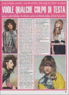 Non perdete in edicola su MIO i consigli di #stile e #moda #capelli di Michele Rubino hairstylist e teacher @EVOS_italia e la collezione #evospatchwork!