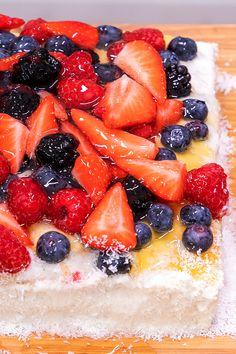 Grapefruit, Strawberry, Cakes, Food, Meal, Essen, Strawberries, Hoods, Pastries