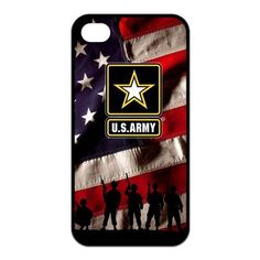 Army and US Flag Cover Case for iPhone 4 4S 5 5S 5C SE 6 6S 7 Plus Samsung Galaxy S3 S4 S5 Mini S6 S7 S8 Edge Plus A3 A5 A7 //Price: $10.51 & FREE Shipping //     #case.deals#iphone case#smartphone cases