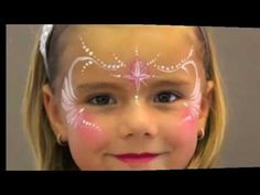 Face Painting for beginners, fast design, intermediate, Princess