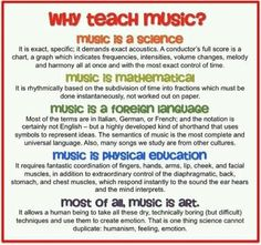 importance of studying music