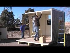 Modular Shelter That Can Be Assembled by 2 People in under 30 Minutes - http://www.tinyhouseliving.com/modular-shelter-that-can-be-assembled-by-2-people-in-under-30-minutes/