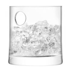 Keep drinks ice cold with the Gin Ice Bucket by LSA. The stylish hand-crafted shape stores plenty of ice cubes to keep your drinks cool. Product Features Size: H Handmade by professional artisans Ultimate Wedding Gifts, Drinks Tray, Contemporary Bar, Gift Wrapping Services, Design Crafts, Home Gifts, Gin, Bucket, Ice Cubes