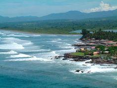 El Salvador coast line