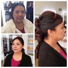 La clave del maquillaje  y peinado es sentirse segura de si misma y tener un estilo propio.   Siempre lucir hermosa y sobre todo resaltar  esa personalidad con la que cuentas.  Citas al 58-58-55-08
