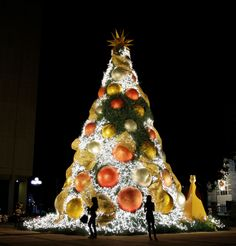The world's best Christmas trees; Santo Domingo, Dominican Republic-A display from 2011