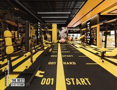 Fitness Design, Gym Design, House Design, Gym Interior, Interior Architecture, Interior Design, Yoga Decor, Gym Decor, Gym Room At Home