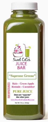 """It tastes, looks, and works different than any other juice. If you're in the know about """"juicing"""", then you know Cold-Pressed juice is the best. Be Your Best, Drink the Best! www.SweetCeCesJuiceBar.com"""