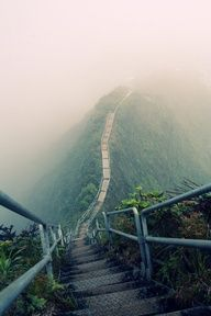 Haik Stairs (Stairway to Heaven), Oahu, Hawaii
