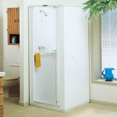 """Buy Mustee 68 Durastall Shower Stall with 32""""D x 32""""W Standard Base 