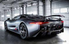 Jaguar CX75.