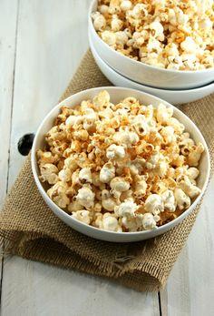 Authentic Suburban Gourmet: Hickory Smoked Barbecue Popcorn | Friday Night Bites