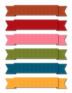 Grossgrain Ribbons~!  Can't wait to print one out to use on a custom card hehe