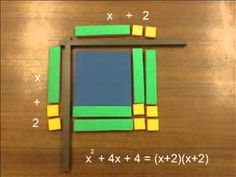 ▶ Factoring with algebra tiles - YouTube