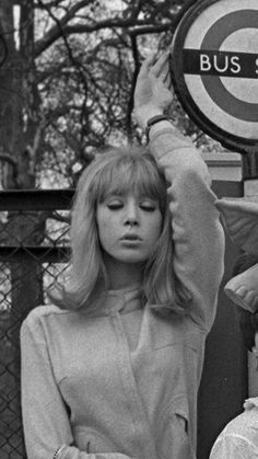 Pattie Boyd in London, 1960s