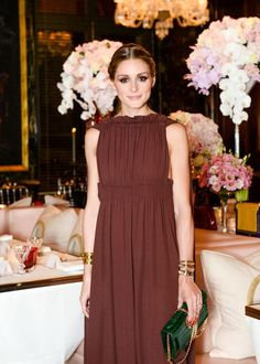 Olivia Palermo at Valentino Dinner in Paris