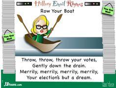 Throw, throw, throw your votes . . .