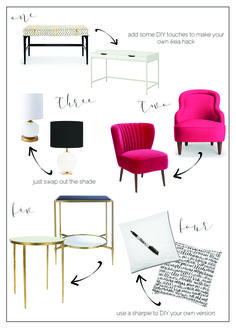 Everything you love from Kate Spade Home, for much less! From boxwoodavenue.com