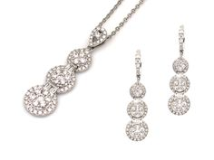 Chase Jewellery Manufactory Ltd. #Booth No.CEC 1D-C32,34,D31,33   #Combine small #Diamonds to look like a big #Stone.