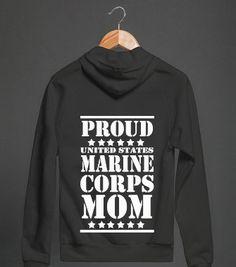 Semper Fi Mom - Marine MoM -Yup, I'm a proud Marine Mom