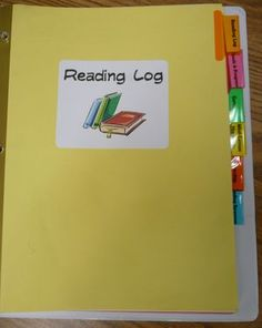 OMG LOVE  Excellent reader's notebook. I love how well thought-out this is! Downloadable forms.