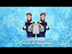 Love is an Open Door - Hans + Hans. This is so great I just can't