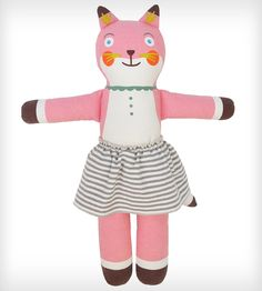 Suzette the Fox Cloth BlaBla Doll | Cute Kids Gift!