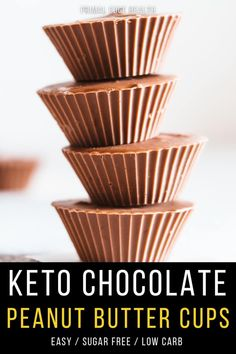 These Reese's-like ketogenic chocolate peanut butter cups are smooth and creamy, packed with healthy fats to nourish your body and mind. Homemade easy keto recipes are always better than store-bought options.