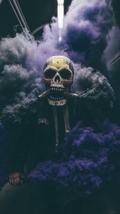 Skeleton of Color: Amazing Performance Art by Butch Locsin – Inspiration Grid Smoke Wallpaper, Cool Wallpaper, Wallpaper Backgrounds, Creative Photography, Art Photography, Rauch Fotografie, Smoke Bomb Photography, Smoke Pictures, Dope Wallpapers