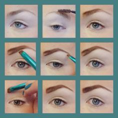 How to fill in your eyebrows with eyeshadow. Using an angle brush on your eyebrows. Eyebrow how to, eyebrow tutorial, eyebrow tips , eyebrow makeup